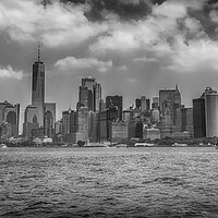 Buy canvas prints of Lower Manhattan Skyline, New York City by Phil Clements