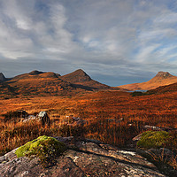 Buy canvas prints of Assynt Panorama by Rob Turner