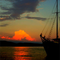 Buy canvas prints of Lets sail away by Jasna Buncic