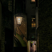 Buy canvas prints of Dark Alley London by Jasna Buncic
