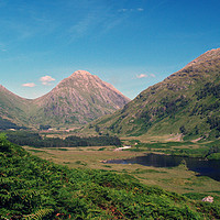Buy canvas prints of Glen Etive by Steven Watson