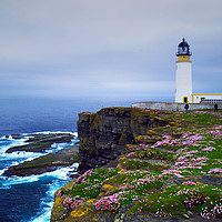 Buy canvas prints of Noup Head Lighthouse by Steven Watson