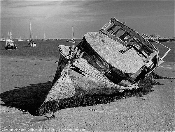 AT ORFORD Canvas print by Helen Cullens