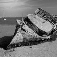 Buy canvas prints of AT ORFORD by Helen Cullens