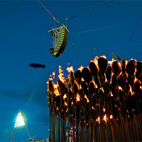 Buy canvas prints of OLYMPIC FLAME by radoslav rundic