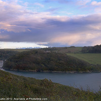 Buy canvas prints of Noss Mayo by David Martin