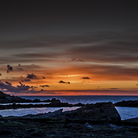 Buy canvas prints of Sunset by David Martin