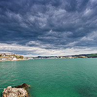 Buy canvas prints of Plymouth Hoe by David Martin