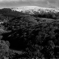 Buy canvas prints of Burrator view by David Martin