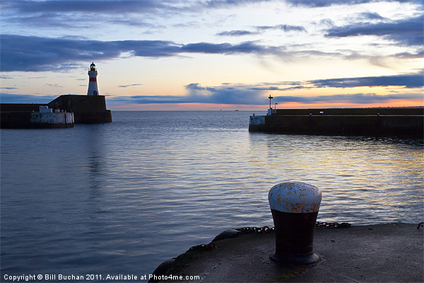 Fraserburgh January Sunrise Canvas Print by Bill Buchan