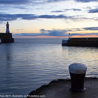 Buy canvas prints of Fraserburgh January Sunrise by Bill Buchan