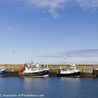 Buy canvas prints of Fraserburgh Line Up by Bill Buchan