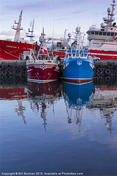 Fraserburgh Harbour Photo Canvas print by Bill Buchan