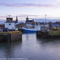 Buy canvas prints of Fraserburgh Harbour Photo by Bill Buchan