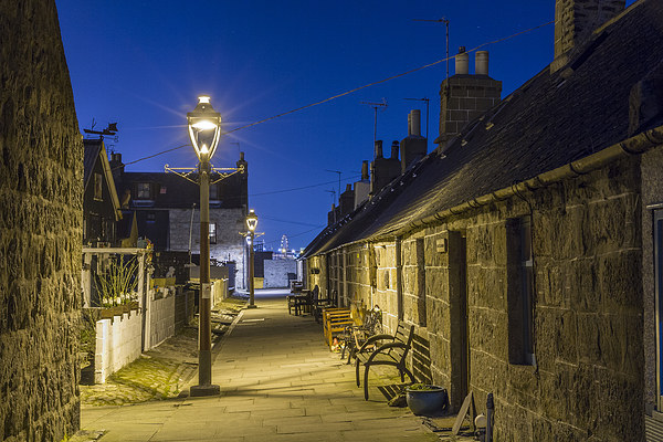 Footdee (Fittie) Aberdeen Canvas Print by Bill Buchan