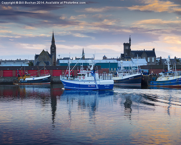Fraserburgh, Home From The Sea Canvas print by Bill Buchan