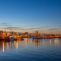 Buy canvas prints of Aberdeen Blue and Gold by Bill Buchan