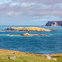 Buy canvas prints of Eilean Hoan, Durness by Bill Buchan