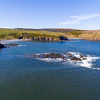 Buy canvas prints of Troup Head And Cullykhan Bay by Bill Buchan