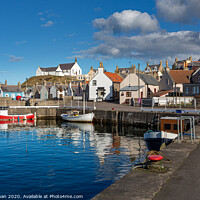 Buy canvas prints of Findochty Small Boats by Bill Buchan