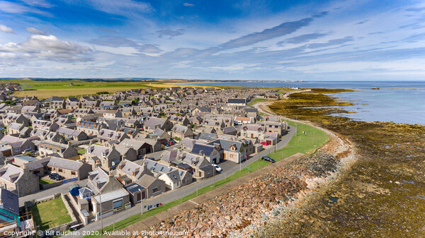 Inverallochy and Cairnbulg Villages Canvas Print by Bill Buchan