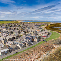 Buy canvas prints of Inverallochy and Cairnbulg Villages by Bill Buchan
