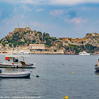 Buy canvas prints of Old Fortress Corfu by Bill Buchan