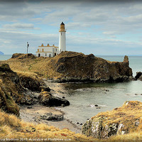 Buy canvas prints of Turnberry Lighthouse by Laura McGlinn Photography