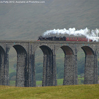 Buy canvas prints of Ribblehead Viaduct, Settle and Carlisle by Chris Petty