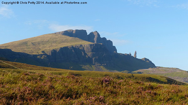 The Storr, Scotland, Isle of Skye Canvas print by Chris Petty
