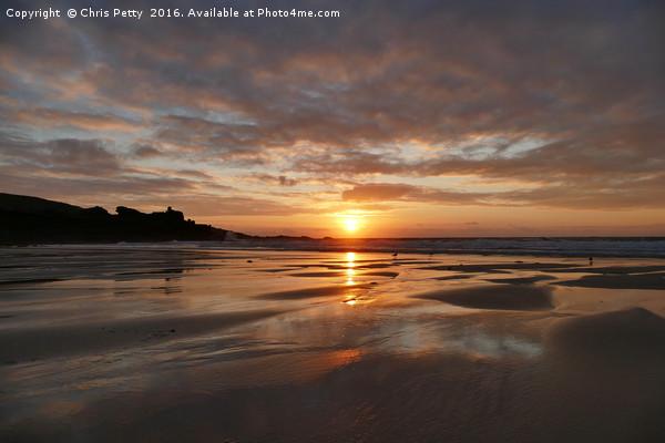Porthmeor Beach, St Ives, Cornwall Canvas Print by Chris Petty