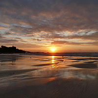 Buy canvas prints of Porthmeor Beach, St Ives, Cornwall by Chris Petty