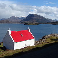 Buy canvas prints of Loch Torridon                                by Chris Petty