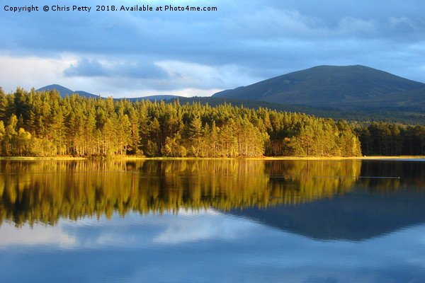 Loch Garten, Cairngorms National Park, Scotland    Framed Mounted Print by Chris Petty