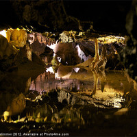 Buy canvas prints of An Alien Cave? by gordon dimmer