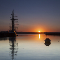 Buy canvas prints of  Tall Ship Tenacious by Paul Brewer