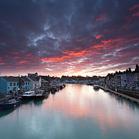 Buy canvas prints of Weymouth at Sunrise by Paul Brewer