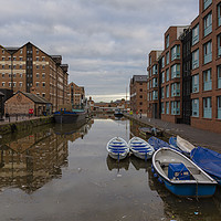 Buy canvas prints of Gloucester Docks  by Paul Brewer