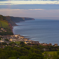 Buy canvas prints of Sidmouth after the storm by Paul Brewer