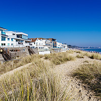 Buy canvas prints of Sandbanks in early Spring by Paul Brewer