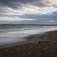 Buy canvas prints of Bowleaze Cove at Winter by Paul Brewer
