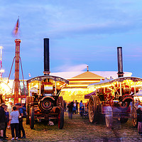 Buy canvas prints of Princess Mary at the Great Dorset Steam Fair by Paul Brewer