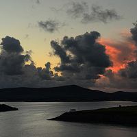 Buy canvas prints of Sunset Dingle Bay by barbara walsh