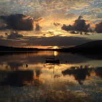 Buy canvas prints of Sunset Dingle by barbara walsh