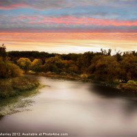 Buy canvas prints of Sunset River by Elaine Manley