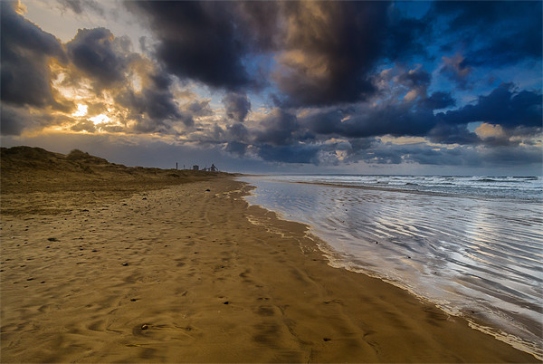 Redcar, Teesside steelworks lying dormant Canvas print by Greg Marshall