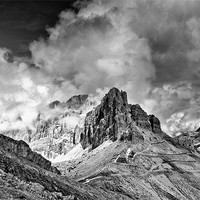 Buy canvas prints of Dolomites from The Lagazuoi Tunnels by Greg Marshall