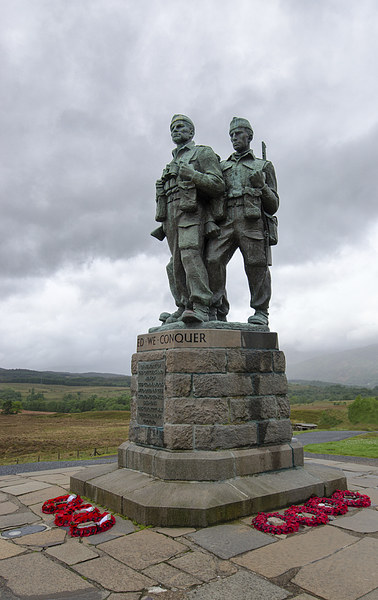 Commando Memorial Scotland Spean Bridge  Canvas print by Greg Marshall