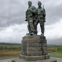 Buy canvas prints of Commando Memorial Scotland Spean Bridge  by Greg Marshall