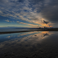 Buy canvas prints of Redcar Steel works South Gare by Greg Marshall